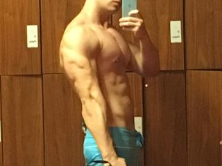 Webcam Snapshop For Man MuscleHunkBrad